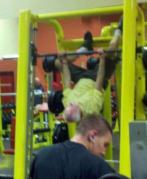 People who did not understand how to do gym (40 images)