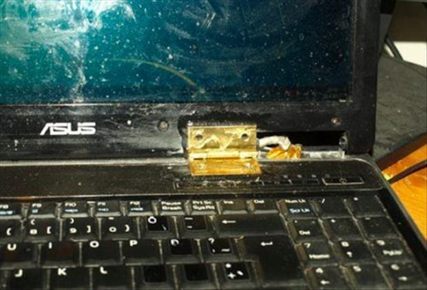 incredible repair to the laptop